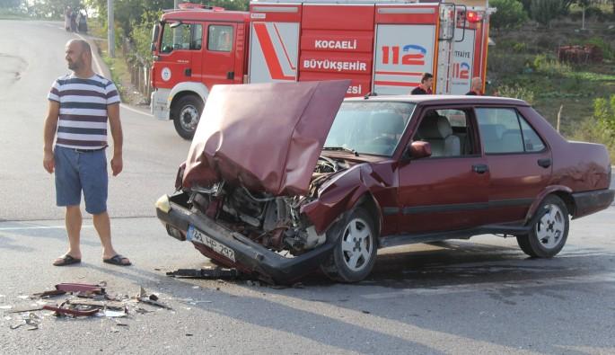 Kaza yapan traktör sürücüsü baygın halde 300 metre ilerledi