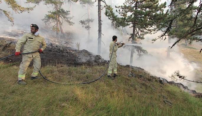 Kütahya ve Bilecik'teki orman yangınları kısmen kontrol altına alındı