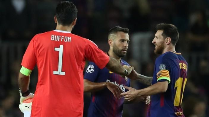Messi kariyerinde ilk kez Buffon'u avladı