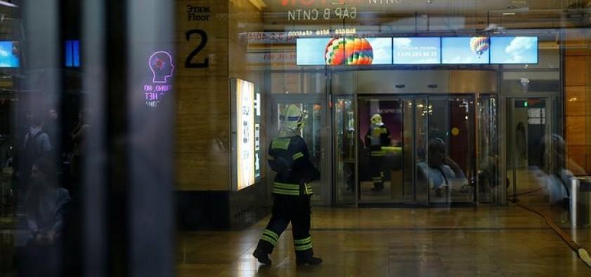 Rusya'da bomba alarmı: 21 bin kişi tahliye edildi