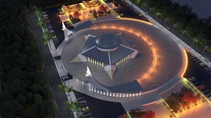 Türkiye'nin ilk 'Ayyıldızlı Camisi' yapılıyor