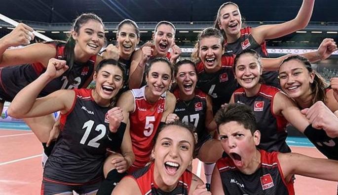 U23 Voleybol Milli Takımı, dünya şampiyonu oldu