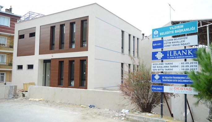 Yıldırım'a yeni sağlık merkezi