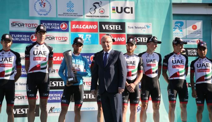 53. Cumhurbaşkanlığı bisiklet turu sonuçlandı...İşte kazananlar