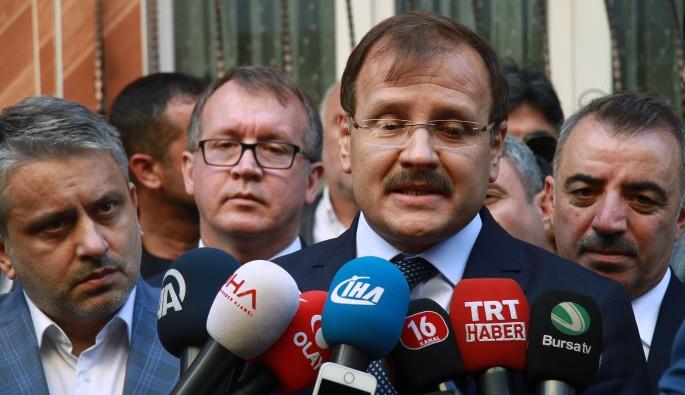 Başbakan Yardımcısı Çavuşoğlu'dan istifalar ile ilgili açıklama