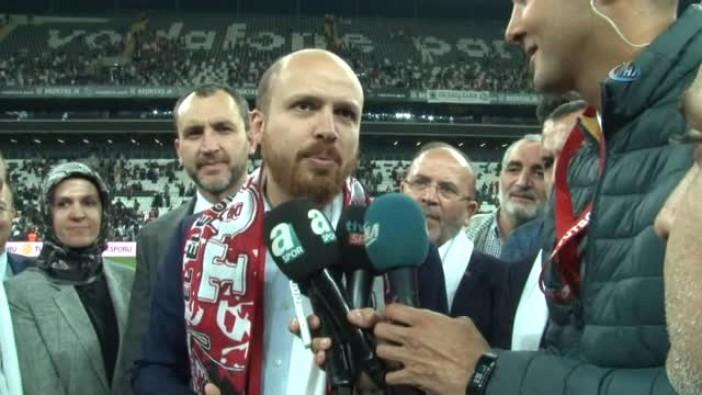 """Bilal Erdoğan: """"Stat tıklım tıklım doluydu"""""""