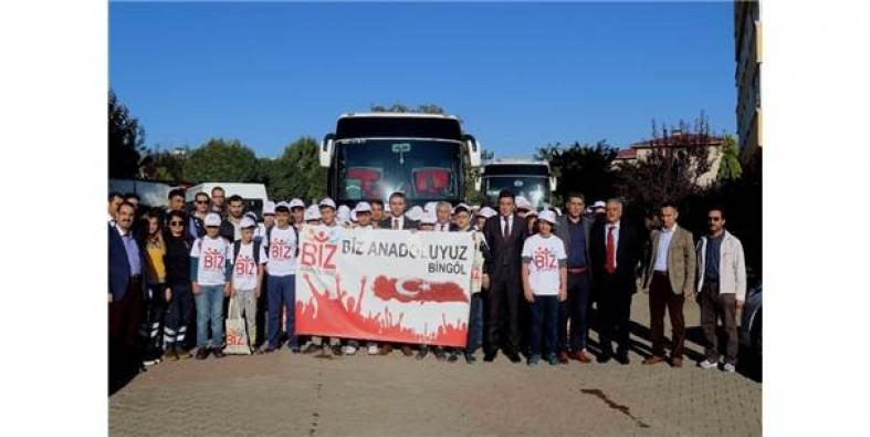 """Biz Anadoluyuz Projesi"" Bursa'da"