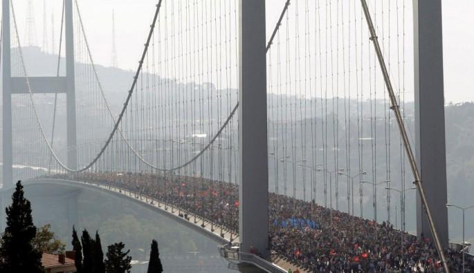 Bursa akın akın İstanbul maratonuna