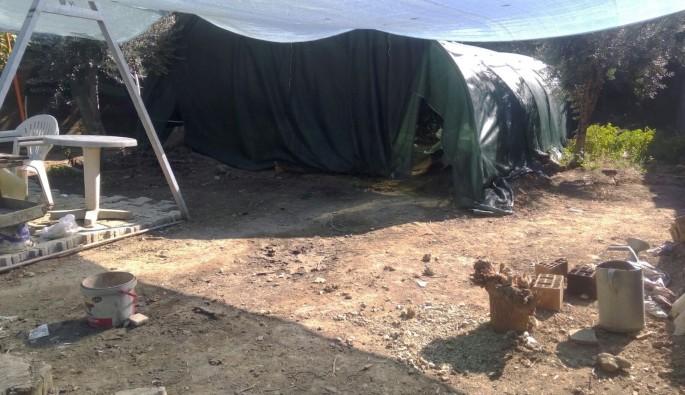 Bursa çadır içinde define kazısı ile ilgili 5 kişi daha gözaltına alındı