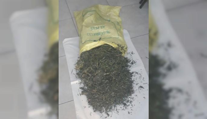 Bursa'da gübre torbasından uyuşturucu çıktı