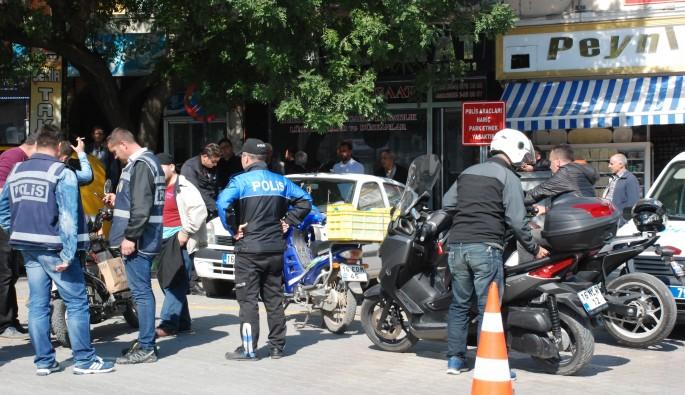 Bursa'da motosikletlere ceza yağdı