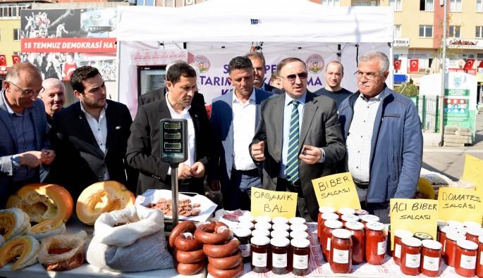 Bursa'da yöresel ürünlere büyük ilgi