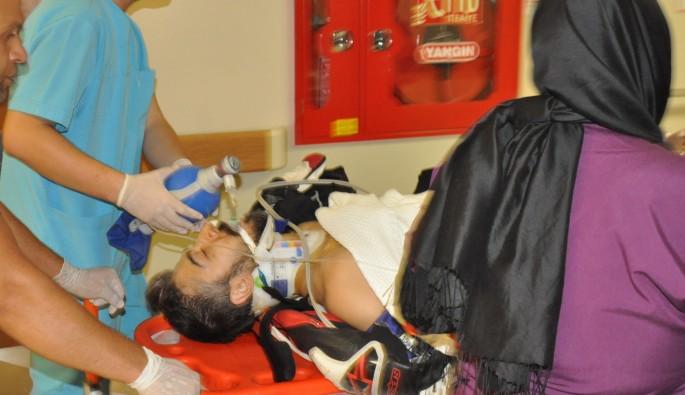 Bursa İnegöl'de bacağı kopan motosiklet sürücüsü öldü