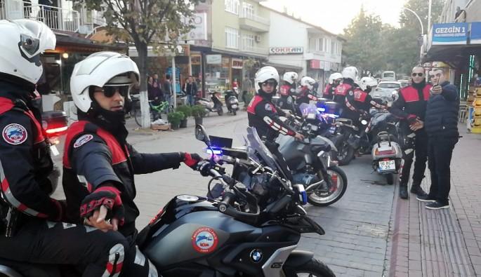 Bursa İznik'te 250 polisle asayiş uygulaması