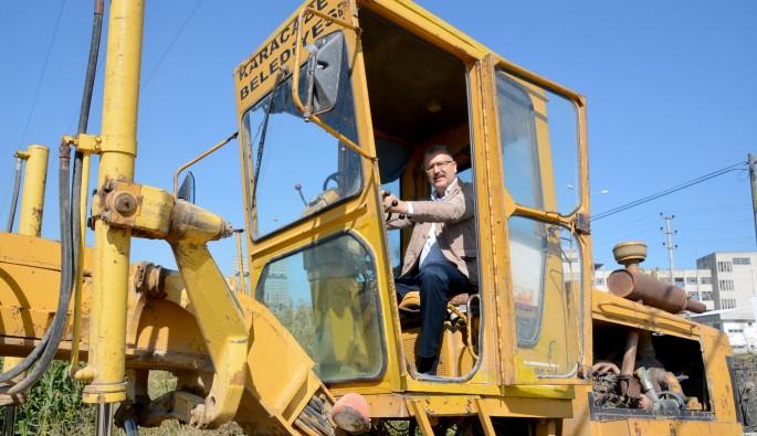 Bursa Karacabey arazi yollar düzenleniyor