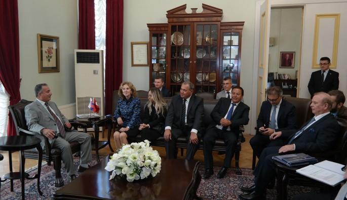 Bursa'ya Slovakya'dan iş birliği için yakın markaj