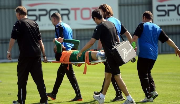 Bursaspor'da Sercan Yıldırım ameliyat olacak