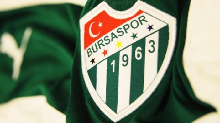 Bursaspor'dan flaş menajer açıklaması