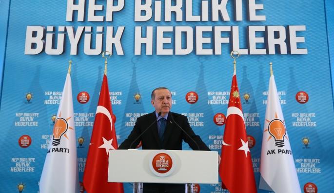 """Cumhurbaşkanı Erdoğan: """"Gidemediğimiz yer bizim değildir"""""""