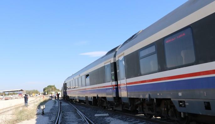 Denizli'de tren kazası