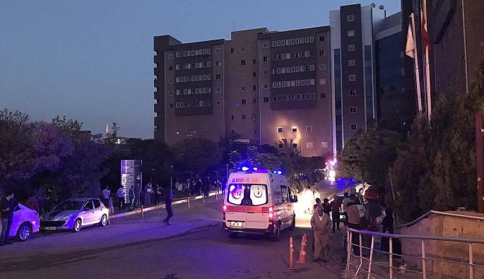 Diyarbakır'da hastanede yangın çıktı