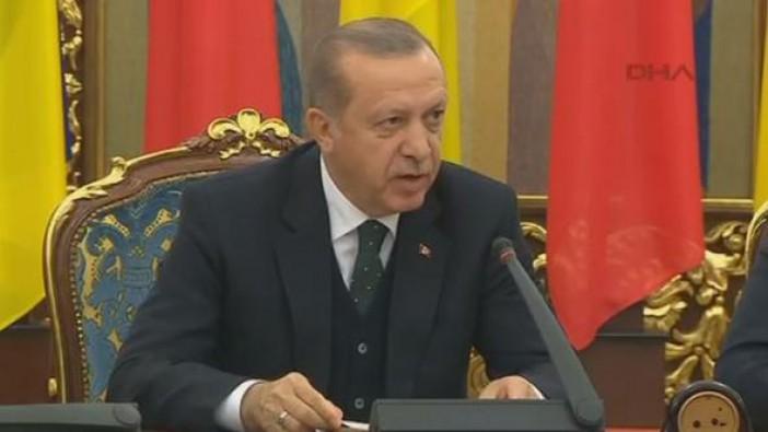 Erdoğan'dan vize krizi hakkında ilk açıklama