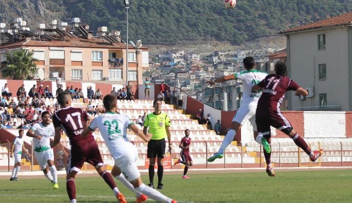 Hatayspor, Bodrum Belediyesi Bodrumspor'u 1-0 ile geçti