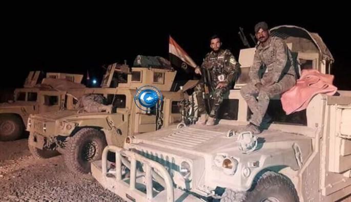 Irak Ordusu Kerkük'e hareket ediyor