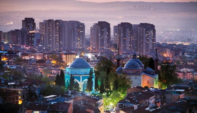 Konutta 5 büyük il arasında en çok değerlenen il Bursa