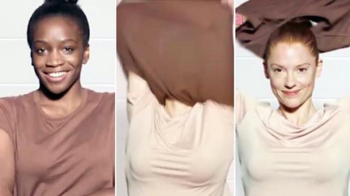 Kozmetik markasının ırkçı reklamına tepki