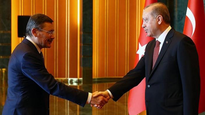Melih Gökçek, Cumhurbaşkanı Erdoğan ile görüşüyor