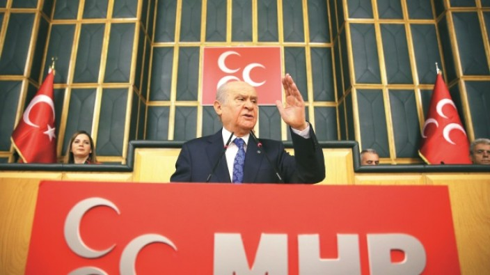 """MHP lideri Bahçeli: """"Etrafımızdaki çember daralıyor"""""""