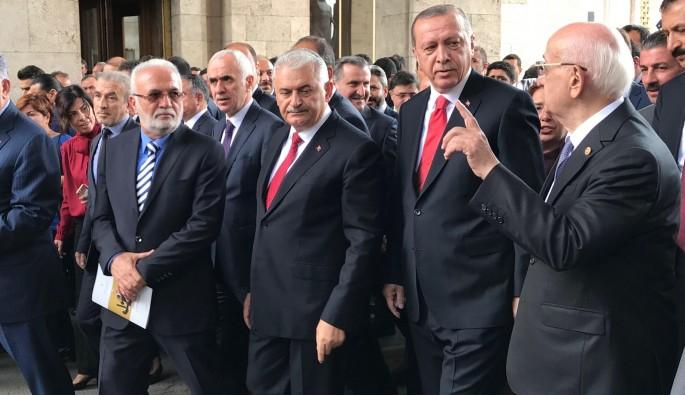 """""""Onların yeri Kandil"""".. HDP mecliste yok.. İşte yeni yasama yılında meclis açılışı"""