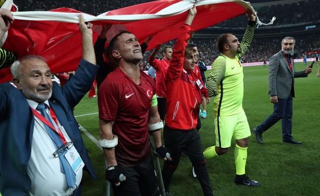 Şırnak gazisi Osman çakmak şampiyonluğu getiren golü attı