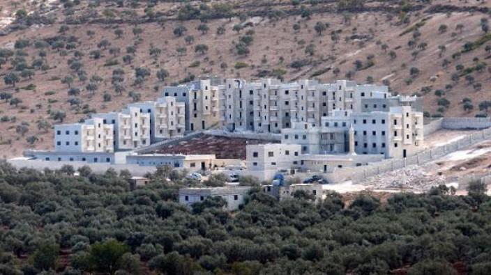 Suriye sınırında gizemli bina