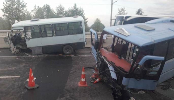 Yalova-Kocaeli kara yolunda trafik kazası: 8 yaralı