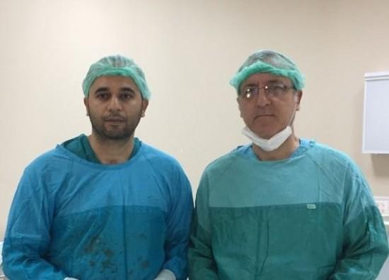 Bursa'da ameliyatla 200 gramlık prostatı aldılar