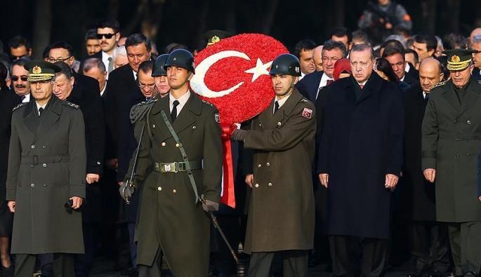 Atatürk'ün ebediyete intikalinin 79. yılı! Devletin zirvesi Anıtkabir'de