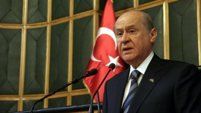 Bahçeli: Terörle mücadelede hükümetin destekçisiyiz