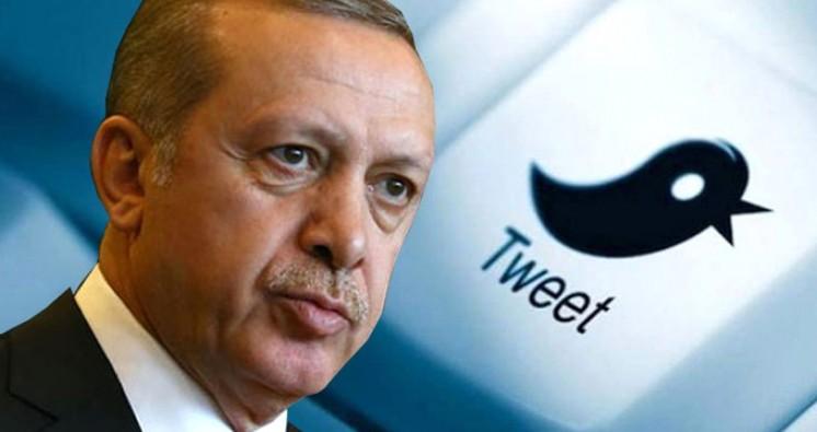 Erdoğan, 280 karakterlik ilk Tweet'ini attı