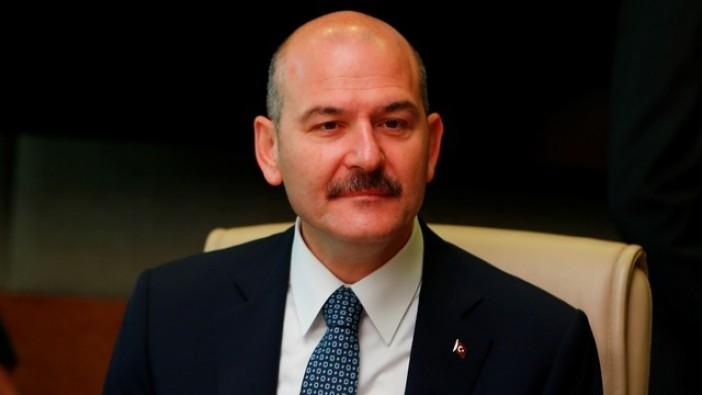 İçişleri Bakanı Soylu'dan askerlere moral ziyareti