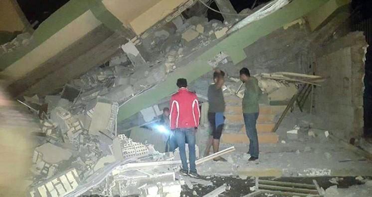 Irak'ta depremde acı bilanço : 207 ölü, 1700 yaralı