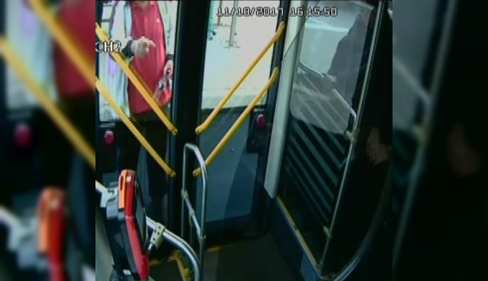 Bursa'da otobüsteki kavgada yeni görüntüleri ortaya çıktı