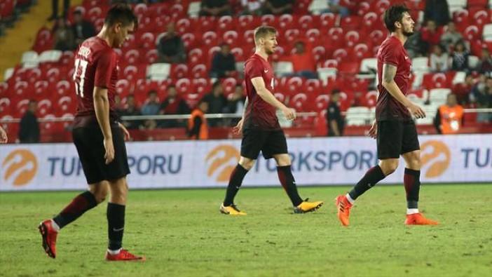 Türkiye 2 - 3 Arnavutluk