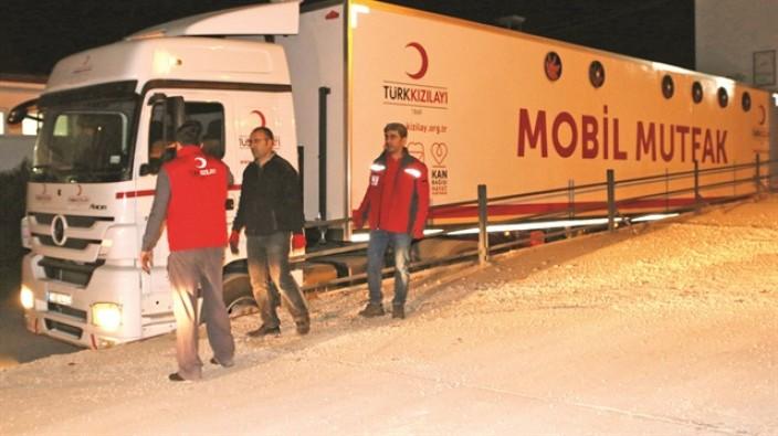 Türkiye yardımlar için harekete geçti!
