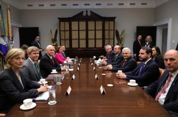 Yıldırım ve Pence görüşmesiyle ilgili Beyaz Saray'dan ilk açıklama