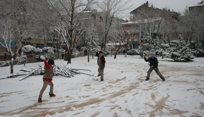Yılın ilk kar tatili haberi o kentten geldi