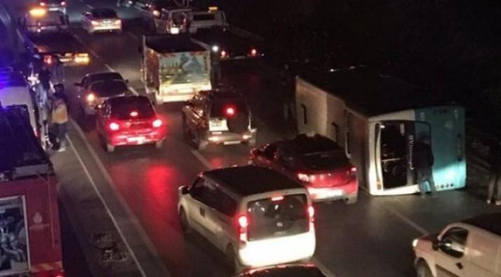 Zincirleme trafik kazası: Yaralılar var