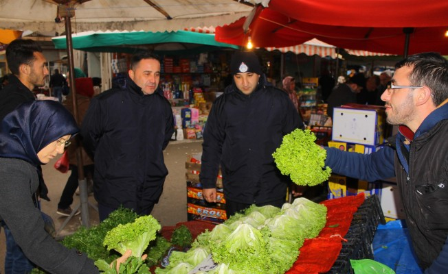 Bursa'da pazar denetimi