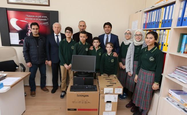 Bursa'da eğitime teknoloji desteği